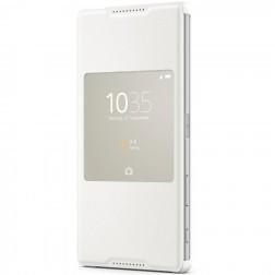 """""""Sony"""" Style Cover Window atverčiamas dėklas - baltas (Xperia Z5 Premium)"""