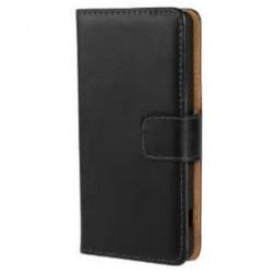 Atverčiamas dėklas, piniginė - juodas (Xperia Z3 compact)