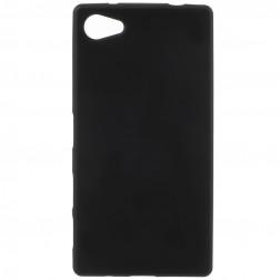 Kieto silikono dėklas - juodas (Xperia Z5 Compact)