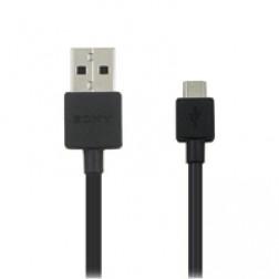 """""""Sony"""" micro USB laidas - juodas"""