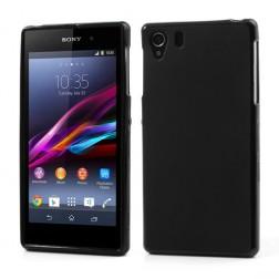 """""""Jelly Case"""" dėklas - juodas (Xperia Z1)"""
