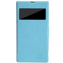 """""""Nillkin"""" Fresh atverčiamas dėklas - mėlynas (Xperia Z1)"""