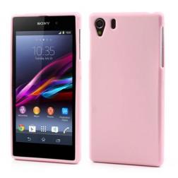 """Jelly Case"" dėklas - rožinis (Xperia Z1)"