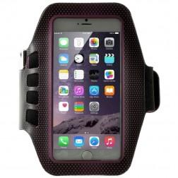 """""""Bubble"""" dėklas sportui (raištis ant rankos) - tamsiai rožinis (XL dydis)"""