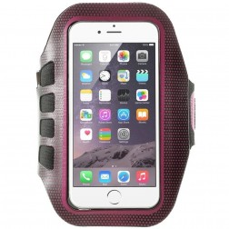 """""""Bubble"""" dėklas sportui (raištis ant rankos) - tamsiai rožinis (L dydis)"""