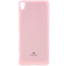 """""""Mercury"""" dėklas - šviesiai rožinis (Xperia XA)"""