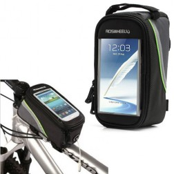 """""""Roswheel"""" dėklas - dviračio krepšys - juodas (XL)"""