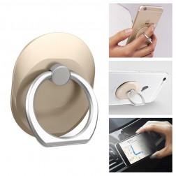"""""""Ring"""" telefono laikiklis - auksinis"""