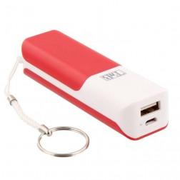 """""""T'nB"""" išorinė baterija - raudona (2500 mAh)"""