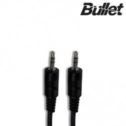"""""""Bullet"""" 3.5 mm AUX stereo garso laidas - juodas (1 m.)"""