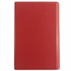 """Universalus dėklas - knygutė, raudona (7"""" planšetėms)"""