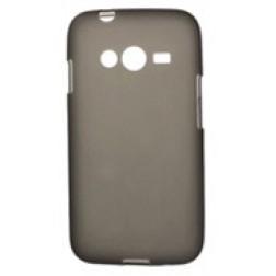 Kieto silikono dėklas - pilkas (Galaxy Ace 4)