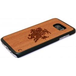 """""""Crafted Cover"""" natūralaus medžio dėklas - Vytis (Galaxy S7)"""