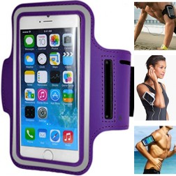 Dėklas sportui (raištis ant rankos) - violetinis (L dydis)