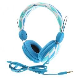 """""""Wallytech"""" ausinės su lankeliu - šviesiai mėlynos"""
