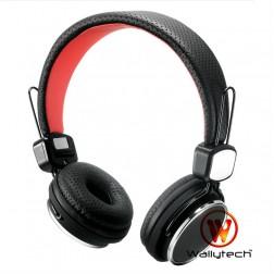 """""""Wallytech"""" ausinės su lankeliu - juodos"""