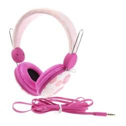 """""""Wallytech"""" ausinės su lankeliu - rožinės"""