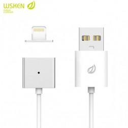 """""""Wsken"""" X-Cable Metal magnetinis lightning USB laidas - baltas (1 m.)"""