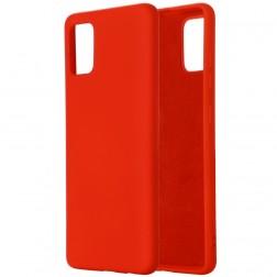 """""""Shell"""" kieto silikono (TPU) dėklas - raudonas (Mi 10 Lite)"""