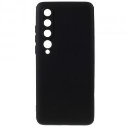"""""""Shell"""" kieto silikono (TPU) dėklas - juodas (Mi 10 / 10 Pro)"""