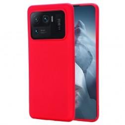 """""""Shell"""" kieto silikono (TPU) dėklas - raudonas (Mi 11 Ultra)"""