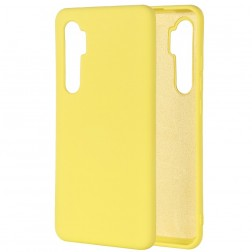 """""""Shell"""" kieto silikono (TPU) dėklas - geltonas (Mi Note 10 Lite)"""