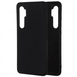 """""""Shell"""" kieto silikono (TPU) dėklas - juodas (Mi Note 10 Lite)"""