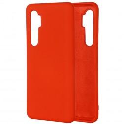 """""""Shell"""" kieto silikono (TPU) dėklas - raudonas (Mi Note 10 Lite)"""