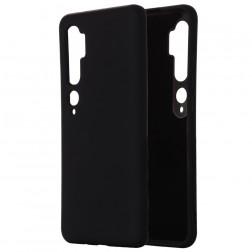 """""""Shell"""" kieto silikono (TPU) dėklas - juodas (Mi Note 10 / 10 Pro)"""