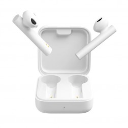 """Xiaomi"" Mi True Wireless Earphones 2 Basic bevielės ausinės - baltos"