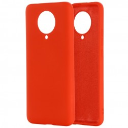 """""""Shell"""" kieto silikono (TPU) dėklas - raudonas (Poco F2 Pro)"""