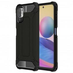 Sustiprintos apsaugos dėklas - juodas (Poco M3 Pro / Redmi Note 10 5G)