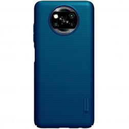 """""""Nillkin"""" Frosted Shield dėklas - mėlynas (Poco X3 / X3 Pro)"""