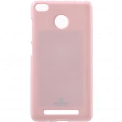 """""""Mercury"""" dėklas - rožinis (Redmi 3S)"""