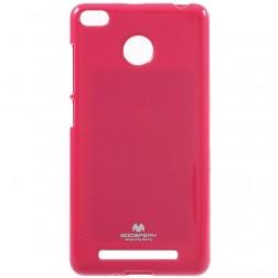 """""""Mercury"""" dėklas - tamsiai rožinis (Redmi 3S)"""