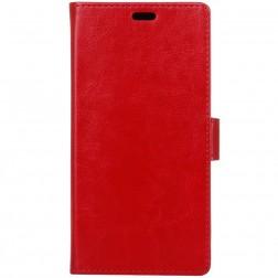 Atverčiamas dėklas, knygutė - raudonas (Redmi 4A)