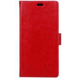 Atverčiamas dėklas, knygutė - raudonas (Redmi 4X)