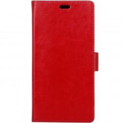 Atverčiamas dėklas, knygutė - raudonas (Redmi 5)