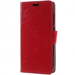 Atverčiamas dėklas, knygutė - raudonas (Redmi 5A)