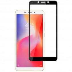 """Mofi"" Tempered Glass apsauginis ekrano stiklas 0.26 mm - juodas (Redmi Note 6 Pro)"