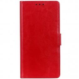 Atverčiamas dėklas, knygutė - raudonas (Redmi 7A)