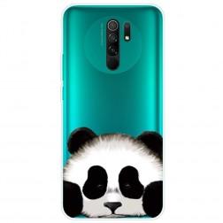 """""""Panda"""" kieto silikono (TPU) dėklas - skaidrus (Redmi 9)"""