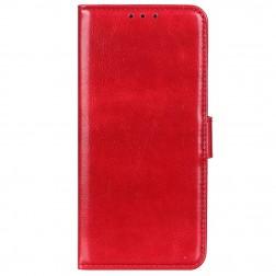 Atverčiamas dėklas, knygutė - raudonas (Redmi 9)