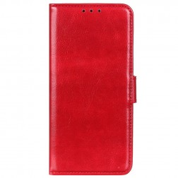 Atverčiamas dėklas, knygutė - raudonas (Redmi 9A)