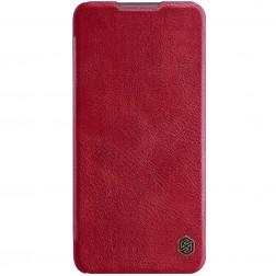 """""""Nillkin"""" Qin atverčiamas dėklas - raudonas (Redmi 9T 5G)"""