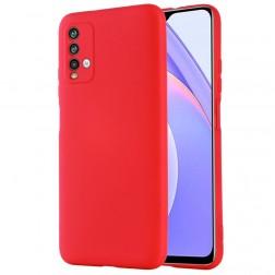 """""""Shell"""" kieto silikono (TPU) dėklas - raudonas (Redmi 9T 5G)"""