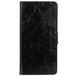 Atverčiamas dėklas, knygutė - juodas (Redmi Go)