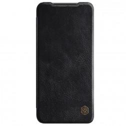 """""""Nillkin"""" Qin atverčiamas dėklas - juodas (Redmi Note 10S / Note 10 4G)"""