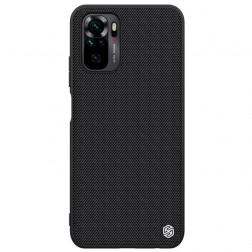 """""""Nillkin"""" Textured dėklas - juodas (Redmi Note 10S / Note 10 4G)"""