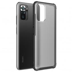 """""""Armor"""" dėklas - matinis / juodas (Redmi Note 10S / Note 10 4G)"""